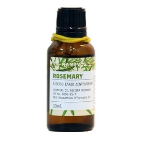 Kanavos Essential oil Rosemary Rosemary Essential Oil, 30ml