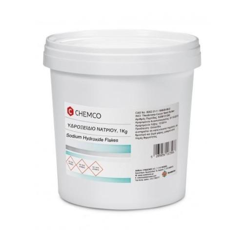 Chemco Sodium Hydroxide Sodium Hydroxide (Sodium Hydrate), 1Kg