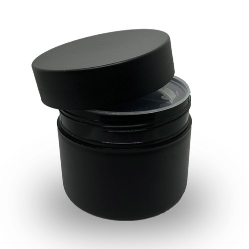 Plastic Jar (PP) Black 300ml, 1pcs