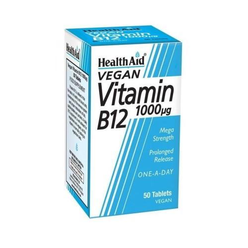 Health Aid B12 1000mg 50 tablets