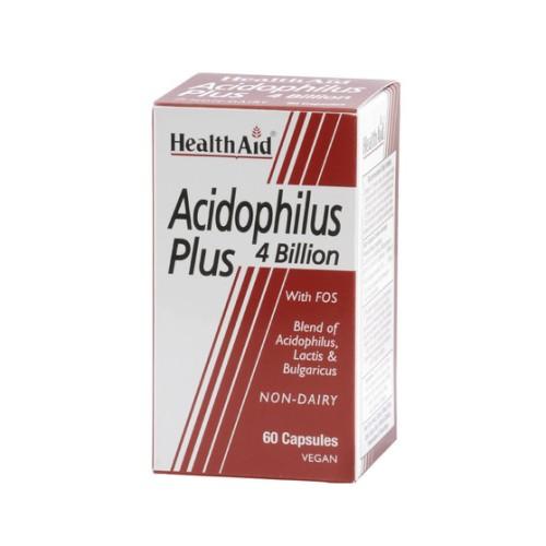 Health Aid Acidophilus Plus 60 capsules