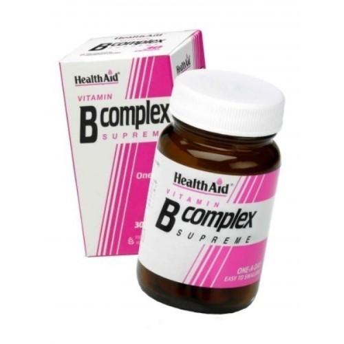 Health Aid B Complex Supreme 30 capsules