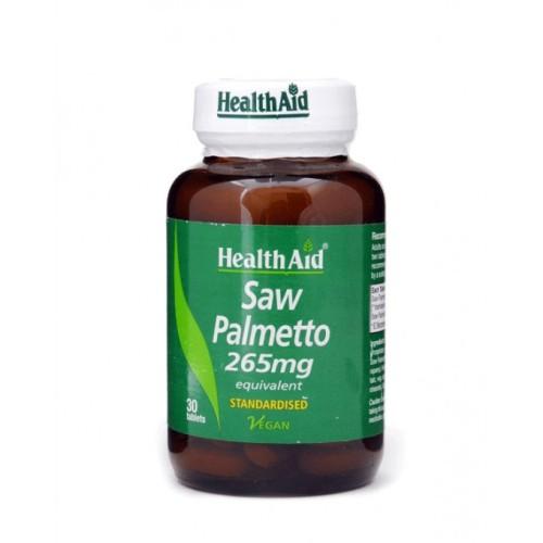 Health Aid Saw Palmetto 265mg 30 tablets
