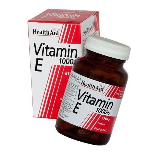 Health Aid Vitamin E 1000iu 30 capsules