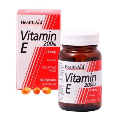 Health Aid Vitamin E 200iu 60 κάψουλες