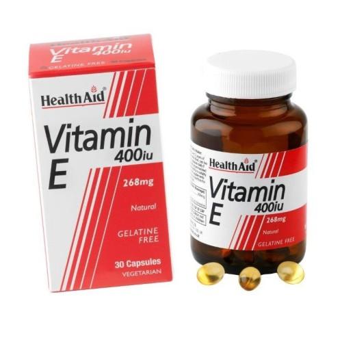 Health Aid Vitamin E 400IU 30 capsules