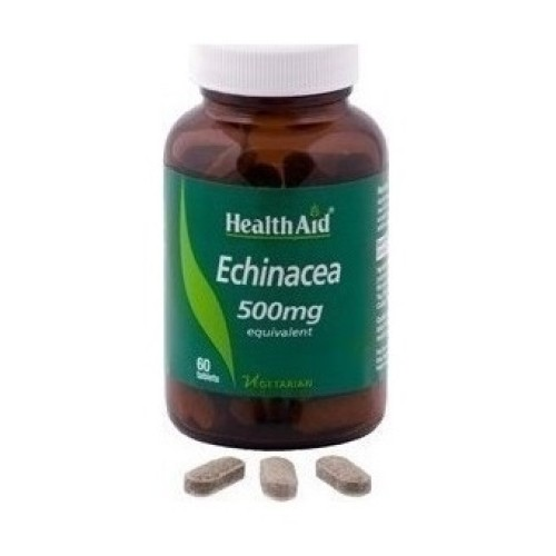 Health Aid Echinacea 500mg 60 tablets