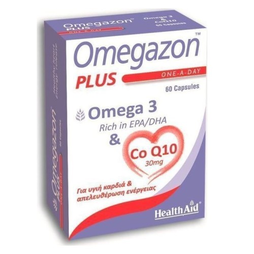 Health Aid Omegazon Plus 60 capsules