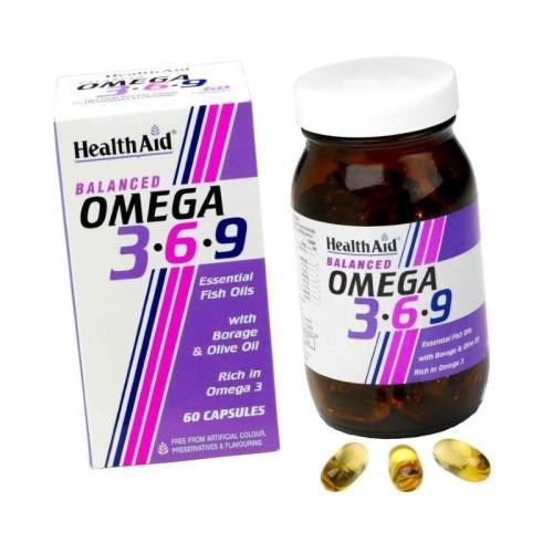 Health Aid Omega 3-6-9 60 capsules