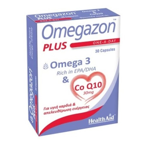 Health Aid Omegazon Plus 30 capsules