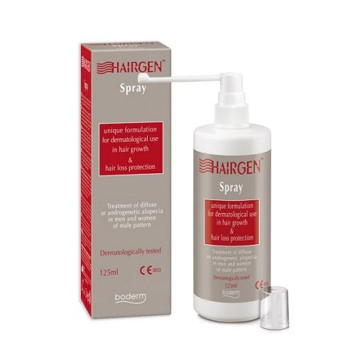 Boderm Hairgen Spray against Hair Loss, 125ml