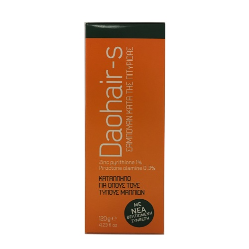 Pharmex Daohair-S Anti-Dandruff Shampoo Anti-Dandruff Shampoo, 120gr