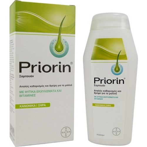 Bayer Priorin Hair Loss Shampoo For Normal / Dry Hair 200ml