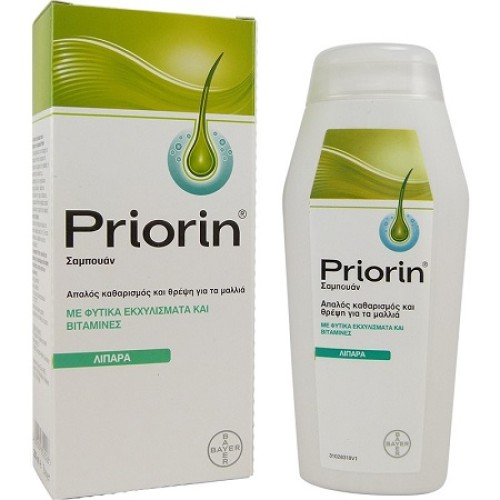 Bayer Priorin Shampoo For Oily / Fine Hair 200ml