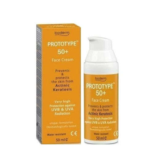 Boderm Prototype Face Cream SPF50 + 50ml