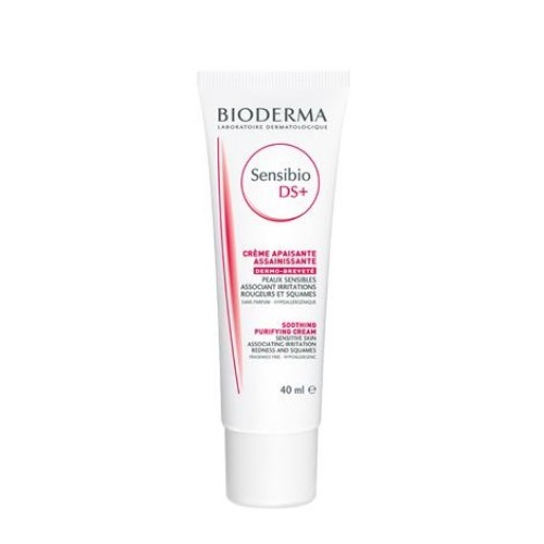 Bioderma Sensibio DS + for Sensitive Skin with Redness and Dry Skin, 40ml