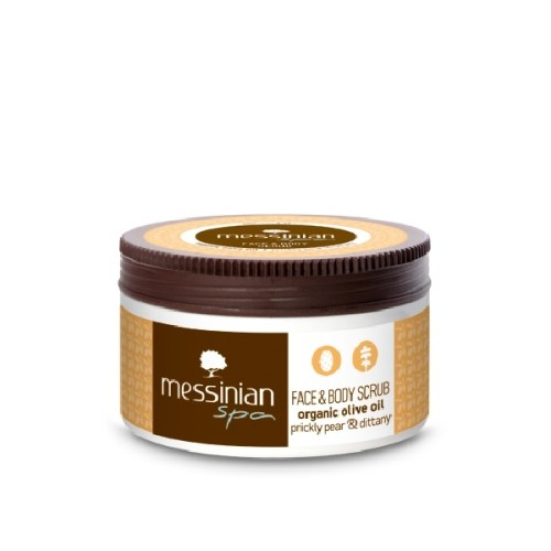Messinian Spa Facial & Body Scrub Cream with Prickly Pear and Dictam 250ml