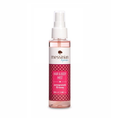 Messinian Spa Hair & Body Mist Pomegranate & Honey Eau Fraiche 100ml