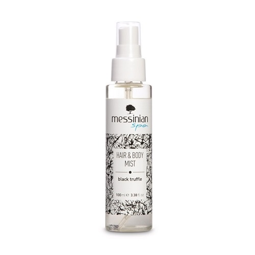 Messinian Spa Hair & Body Mist Black Truffle Eau Fraiche 100ml