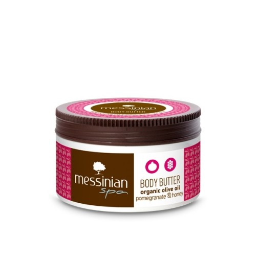 Messinian Spa Body Butter with Pomegranate and Honey 250ml