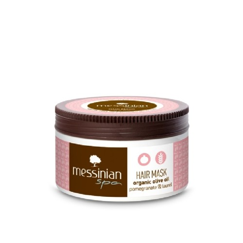 Messinian Spa Pomegranate & Laurel Hair Mask 250ml