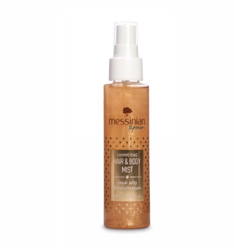 Messinian Spa Hair & Body Mist Shimmering Royal Jelly & Helichrysum, 100ml