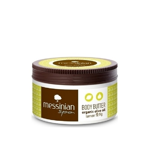 Messinian Spa Body Butter with Lemon and Fig 250ml