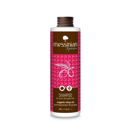 Messinian Spa Shampoo for Dyed Pomegranate Hair - Grape 300ml