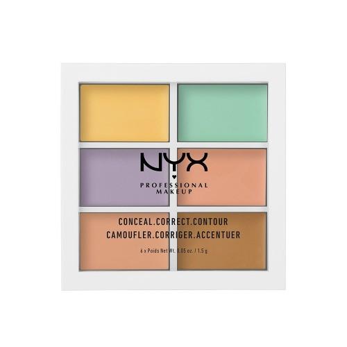 NYX Professional Makeup Color Correcting Concealer Palette 6x1.5g