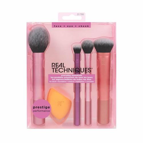 Real Techniques Everyday Essentials Makeup Brush Kit 5pcs