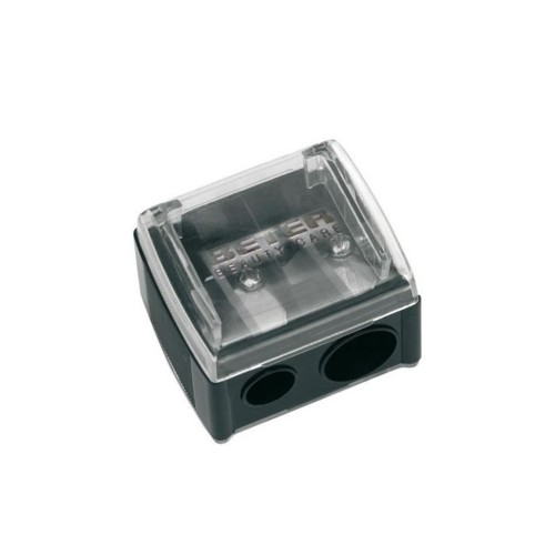 Beter Double Cosmetic Pencil Sharpener with Catcher 1pc