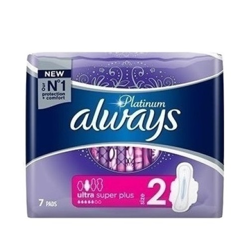 Always Platinum Ultra Super Plus 7pcs