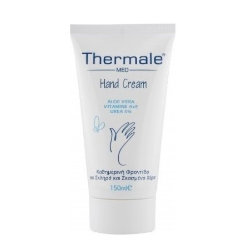 Thermale Med Hand Cream Aloe Vera 150ml Daily Care For Hard & Chapped Hands