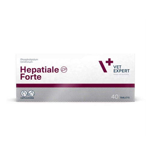 VetExpert Hepatiale Forte Supports Liver Function for Dogs and Cats 40tabs