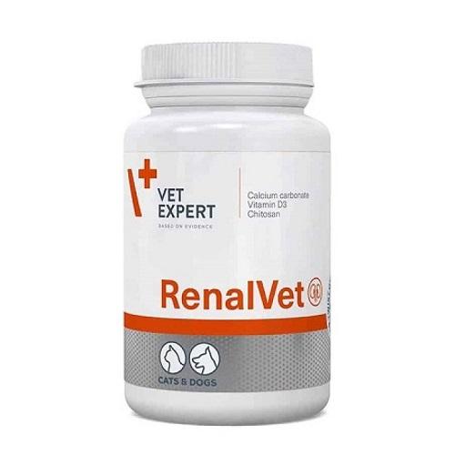 VetExpert RenalVet Against Chronic Kidney Failure, 60caps