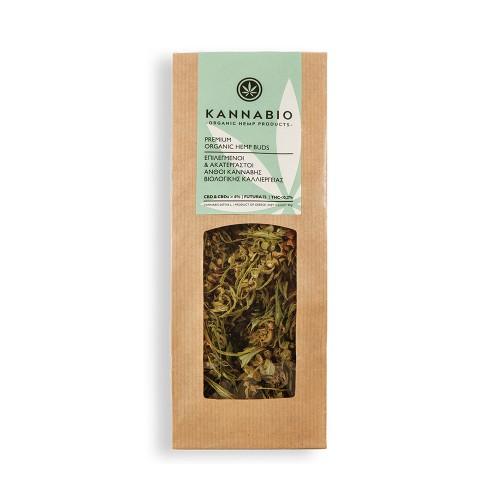 KannaBio Premium Organic Hemp Buds 30g