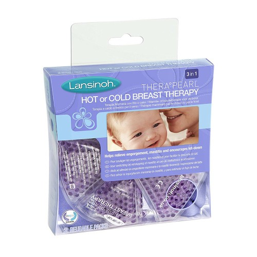 Lansinoh Thera Pearl 3in1 Hot or Cold Breast Therapy 2pcs