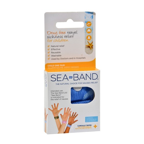 Sea Band Children's Travel Sickness 2pcs
