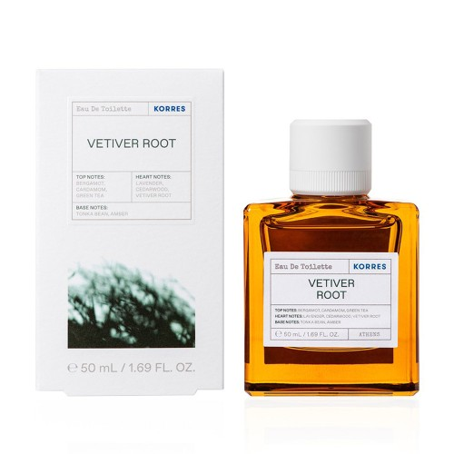 Korres Vetiver Root Eau de Toilette Perfume for Men 50ml