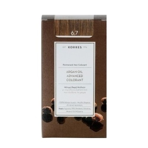 Korres Argan Oil Advanced Colorant 6.7 Cocoa