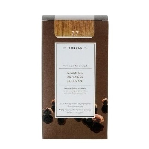 Korres Argan Oil Advanced Colorant 7.7 Mocha