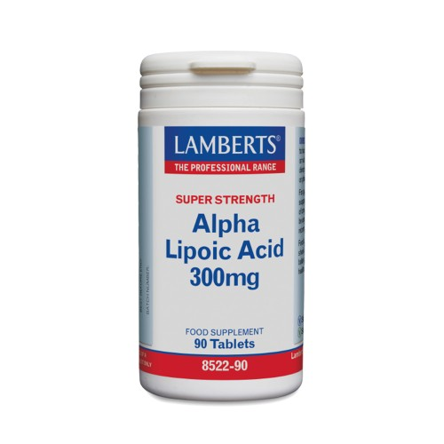 Lamberts Alpha Lipoic Acid 300mg 90tabs