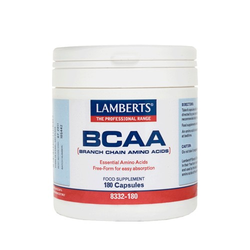 Lamberts BCAA - Branch Chain Amino Acids 180caps