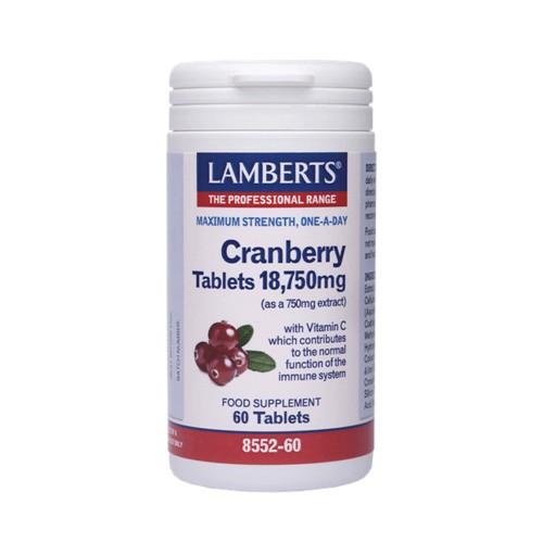 Lamberts Cranberry 18.750mg 60caps