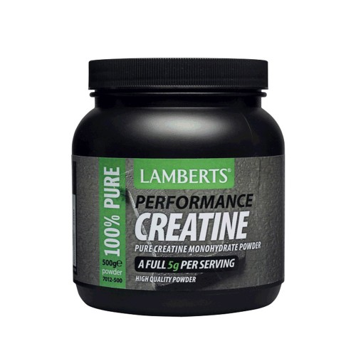 Lamberts Creatine Performance Pure Creatine Monohydrate Powder 500g