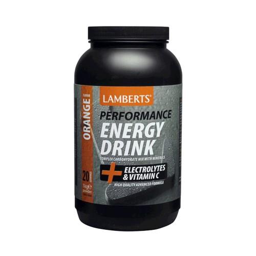 Lamberts Energy Drink Orange 1000g