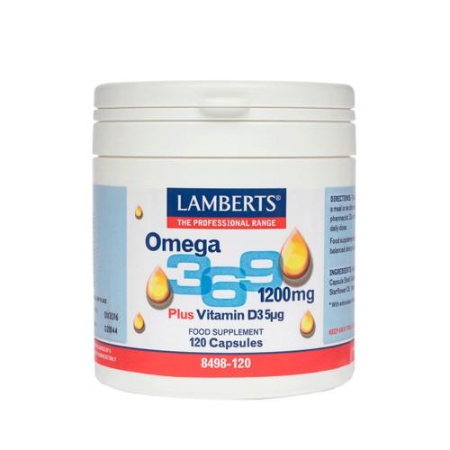 Lamberts Omega 3-6-9 1200mg 120caps