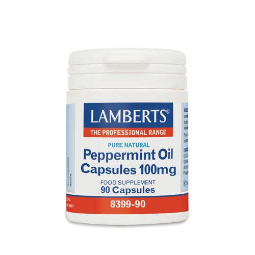 Lamberts Peppermint Oil for Digestive Aid 100mg 90caps