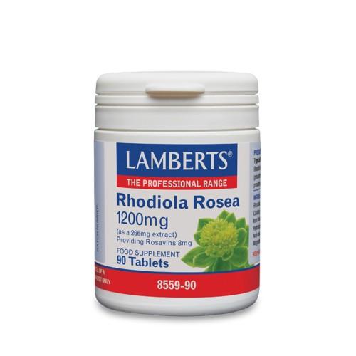 Lamberts Rhodiola Rosea 1200mg 90tabs
