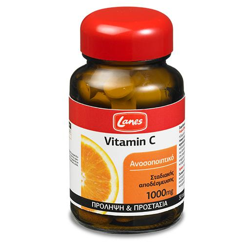 Lanes Vitamin C 1000mg 30 tablets